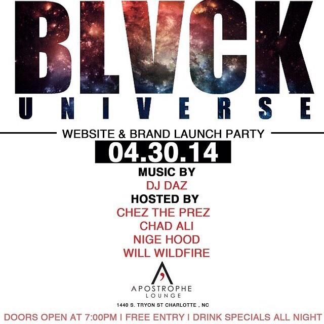 BLVCK Universe Website & Brand Launch Party