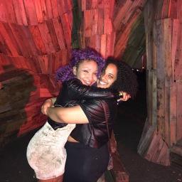 Jasmyn and friend in PR