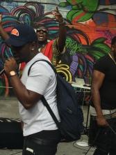 DJ (back) & Hypeman