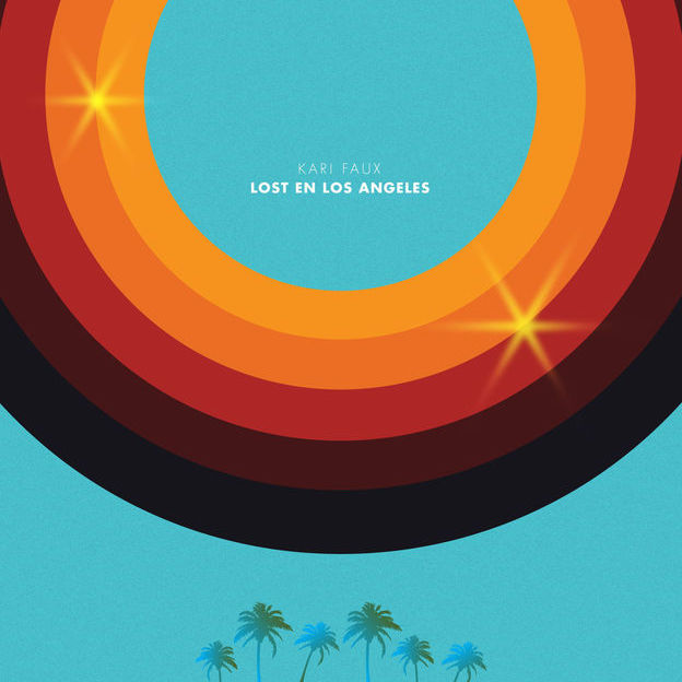 Kari-Faux-Lost-En-Los-Angeles-album-cover-art